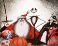 Animation Art:Poster, Tim Burton's Nightmare Before Christmas Limited Edition Lithograph Print #62/250 (Angeles Press, 1993)....