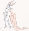 Animation Art:Production Cel, The Hasty Hare Bugs Bunny Production Cel (Warner Brothers, 1952)....