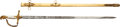 Western Expansion:Goldrush, John A. Sutter: A Superb Engraved Sword Presented to this Famous California Gold Rush Figure by the Sutter Rifles Militia Grou...