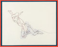 Animation Art:Production Drawing, Peter Pan Animation Drawing (Walt Disney, 1953). . ...