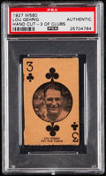 Baseball Cards:Singles (Pre-1930), 1927 W560 Lou Gehrig PSA Authentic. ...