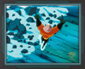 Animation Art:Production Cel, Superman: The Animated Series Aquaman Production Cel (WarnerBrothers, 1999)....