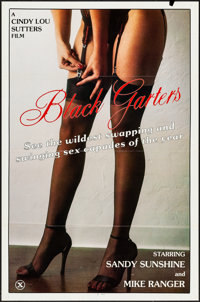 """Black Garters & Other Lot (Masterpiece, 1981). One Sheets (20) (27"""" X 41""""). Adult. ... (Total: 20 Items)"""