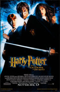 "Movie Posters:Fantasy, Harry Potter and the Chamber of Secrets (Warner Brothers, 2002).One Sheet (26"" X 40""). DS Advance. Fantasy.. ..."