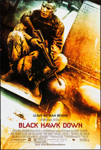 """Black Hawk Down & Others Lot (Sony, 2001). One Sheets (4) (27"""" X 40""""). War. ... (Total: 4 Items)"""