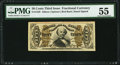 Fractional Currency:Third Issue, Fr. 1329 50¢ Third Issue Spinner PMG About Uncirculated 55.. ...