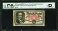 Fractional Currency:Fifth Issue, Fr. 1381 50¢ Fifth Issue PMG Choice Uncirculated 63.. ...