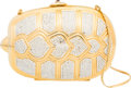 "Luxury Accessories:Bags, Judith Leiber Gold Turtle Minaudiere. Condition: 2. 5.5"" Width x 4"" Height x 1.5"" Depth. ..."