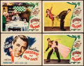 """Movie Posters:Comedy, Arsenic and Old Lace (Warner Brothers, 1944). Title Lobby Card & Lobby Cards (3) (11"""" X 14""""). Comedy.. ... (Total: 4 Items)"""