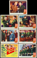 "Movie Posters:War, Command Decision (MGM, 1948). Title Lobby Card & Lobby Cards (6) (11"" X 14""). War.. ... (Total: 7 Items)"