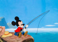 Animation Art:Color Model, The Simple Things Mickey Mouse Color Model Cel (Walt Disney, 1953)....