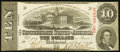 Confederate Notes:1863 Issues, T59 $10 1863 PF-35 Cr. 444 Very Fine.. ...