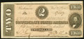 Confederate Notes:1864 Issues, T70 $2 1864 PF-5 Cr. 567 Extremely Fine-About Uncirculated.. ...