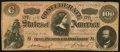 "Confederate Notes:1864 Issues, CT65/491 ""Havana Counterfeit"" $100 1864 Very Fine.. ..."