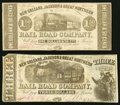 Obsoletes By State:Louisiana, New Orleans, LA- New Orleans, Jackson & Great Northern Rail Road Company $1.50; $3 Nov. 16, 1861 Fine.. ... (Total: 2 notes)