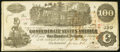 Confederate Notes:1862 Issues, T39 $100 1862 PF-4 Cr. 293 Fine-Very Fine.. ...