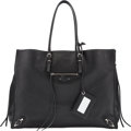 "Luxury Accessories:Bags, Balenciaga Black Tote Bag. Condition: 2. 16"" Width x 12"" Height x 7"" Depth. ..."