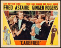 "Movie Posters:Musical, Carefree (RKO, 1938). Lobby Card (11"" X 14""). Musical.. ..."
