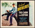 "Movie Posters:Drama, The Cabin in the Cotton (First National, 1932). Title Lobby Card(11"" X 14""). Drama.. ..."