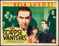 """Movie Posters:Horror, The Corpse Vanishes (Monogram, 1942). Title Lobby Card (11"""" X 14""""). Horror.. ..."""