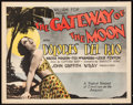 """Movie Posters:Drama, The Gateway of the Moon (Fox, 1928). Title Lobby Card (11"""" X 14"""").Drama.. ..."""