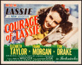 """Movie Posters:Drama, Courage of Lassie (MGM, 1946). Title Lobby Card (11"""" X 14"""").Drama.. ..."""
