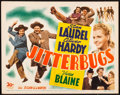 """Movie Posters:Comedy, Jitterbugs (20th Century Fox, 1943). Title Lobby Card (11"""" X 14""""). Comedy.. ..."""