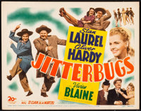 "Jitterbugs (20th Century Fox, 1943). Title Lobby Card (11"" X 14""). Comedy"
