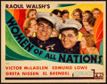 """Movie Posters:Comedy, Women of All Nations (Fox, 1931). Title Lobby Card (11"""" X 14"""").Comedy.. ..."""