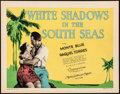 "Movie Posters:Romance, White Shadows in the South Seas (MGM, 1928). Title Lobby Card (11"" X 14""). Romance.. ..."