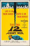"""Movie Posters:Drama, 12 Angry Men (United Artists, 1957). One Sheet (27.25"""" X 41.5"""").Drama.. ..."""