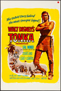 """Movie Posters:Western, Tonka & Other Lot (Buena Vista, 1958). One Sheets (2) (27"""" X 41""""). Western.. ... (Total: 2 Items)"""