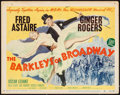 "Movie Posters:Musical, The Barkleys of Broadway (MGM, 1949). Title Lobby Card (11"" X 14"").Musical.. ..."