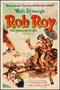 """Movie Posters:Adventure, Rob Roy, the Highland Rogue (RKO, 1954). One Sheet (27"""" X 41""""). Adventure.. ..."""