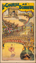 "Movie Posters:Musical, La Course au Bonheur (1912). French Poster (35.5"" X 63""). Musical.. ..."
