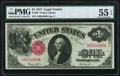 Fr. 36 $1 1917 Legal Tender PMG About Uncirculated 55 EPQ