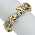 Estate Jewelry:Rings, Diamond, Platinum, Gold Eternity Band . ...
