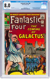 Fantastic Four #48 (Marvel, 1966) CGC VF 8.0 White pages