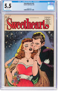 Golden Age (1938-1955):Romance, Sweethearts #31 (Charlton, 1955) CGC FN- 5.5 Off-white pages....