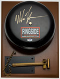 Boxing Collectibles:Autographs, Mike Tyson Signed Bell....