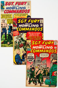 Sgt. Fury and His Howling Commandos Group of 5 (Marvel, 1963-67) Condition: Average VG.... (Total: 5 Comic Books)