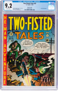 Golden Age (1938-1955):War, Two-Fisted Tales #25 Gaines File Pedigree 3/10 (EC, 1952) CGC NM-9.2 Off-white pages....