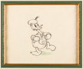Animation Art:Production Drawing, The New Spirit Donald Duck Animation Drawing (Walt Disney,1942)....