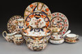 Ceramics & Porcelain, An Assembled Twenty-Seven Piece Imari Pattern Porcelain Table Service, late 19th-20th centuries. Most with mar... (Total: 26 Items)