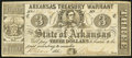 Obsoletes By State:Arkansas, (Little Rock), AR- State of Arkansas $3 Mar. 4, 1864 Cr. 42A Fine.. ...