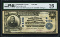 National Bank Notes:Texas, Clarksville, TX - $10 1902 Plain Back Fr. 631 The Red River NB Ch. # (S)4982 PMG Very Fine 25.. ...