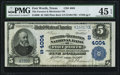 National Bank Notes:Texas, Fort Worth, TX - $5 1902 Plain Back Fr. 600 The Farmers & Mechanics NB Ch. # (S)4004 PMG Choice Extremely Fine 45 EPQ....