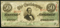 Confederate Notes:1863 Issues, T57 $50 1863 PF-3 Cr. 408. Very Fine-Extremely Fine.. ...