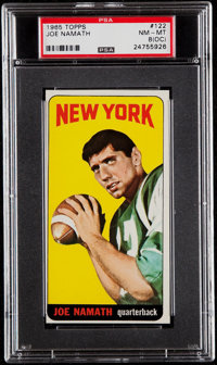 1965 Topps Joe Namath #122 PSA NM-MT 8 (OC)