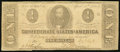 Confederate Notes:1863 Issues, T62 $1 1863 PF-10 Cr. 478. Very Good-Fine. ...